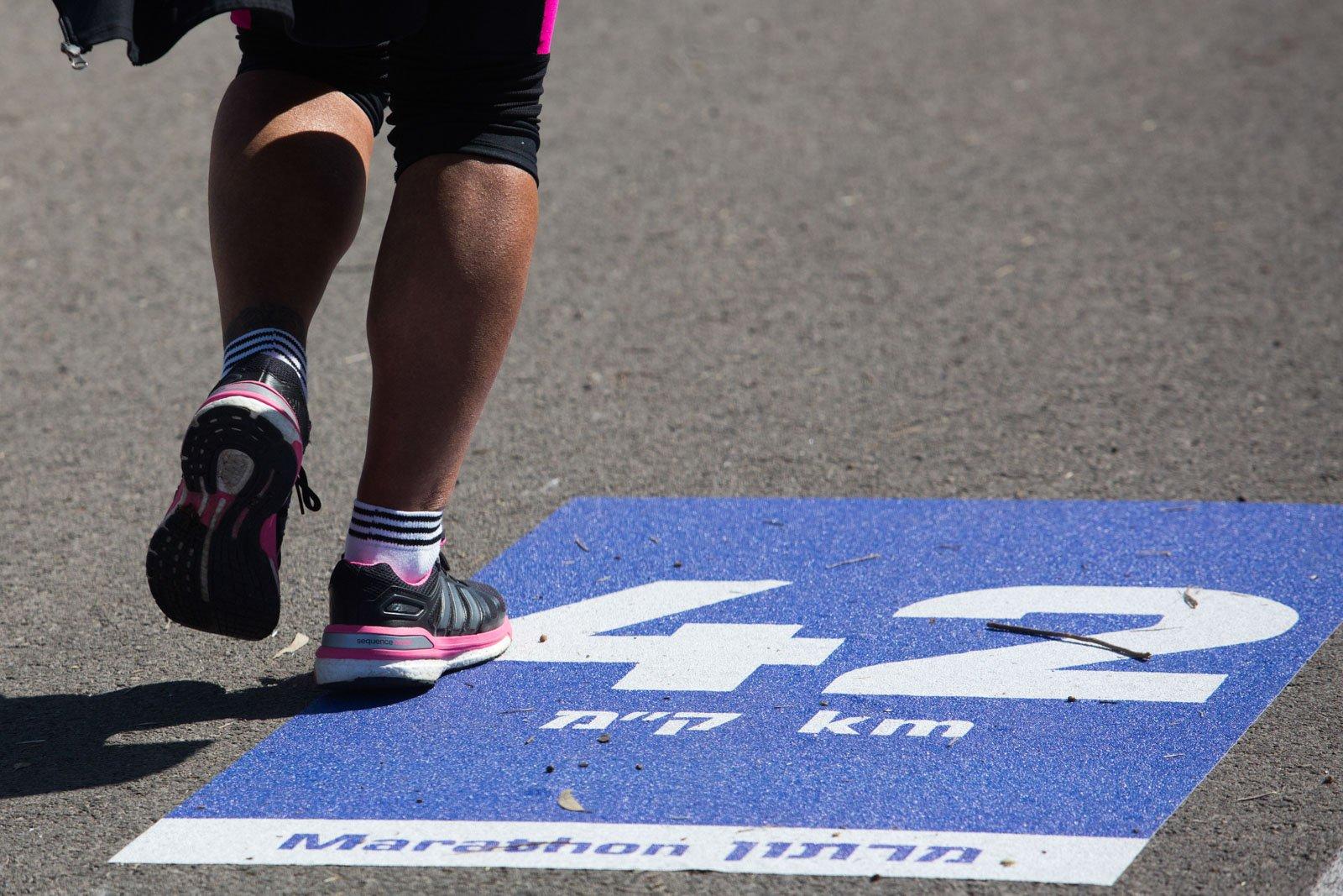 גם מרתון מתחיל בצעד אחד