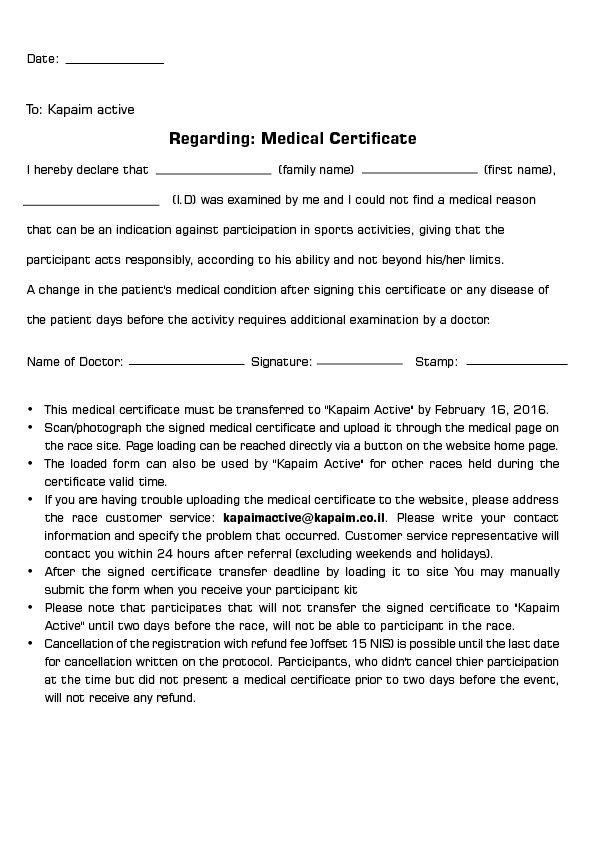Medical Certificate For Patient  BesikEightyCo